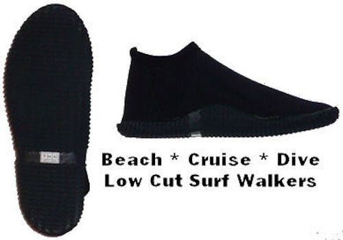 Booties Boot Scuba Dive Boots Low Cut Booties aqua sock cruise shoe jet ski boat SUP Kayak
